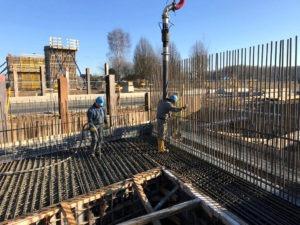 Fundamentplatte betonieren