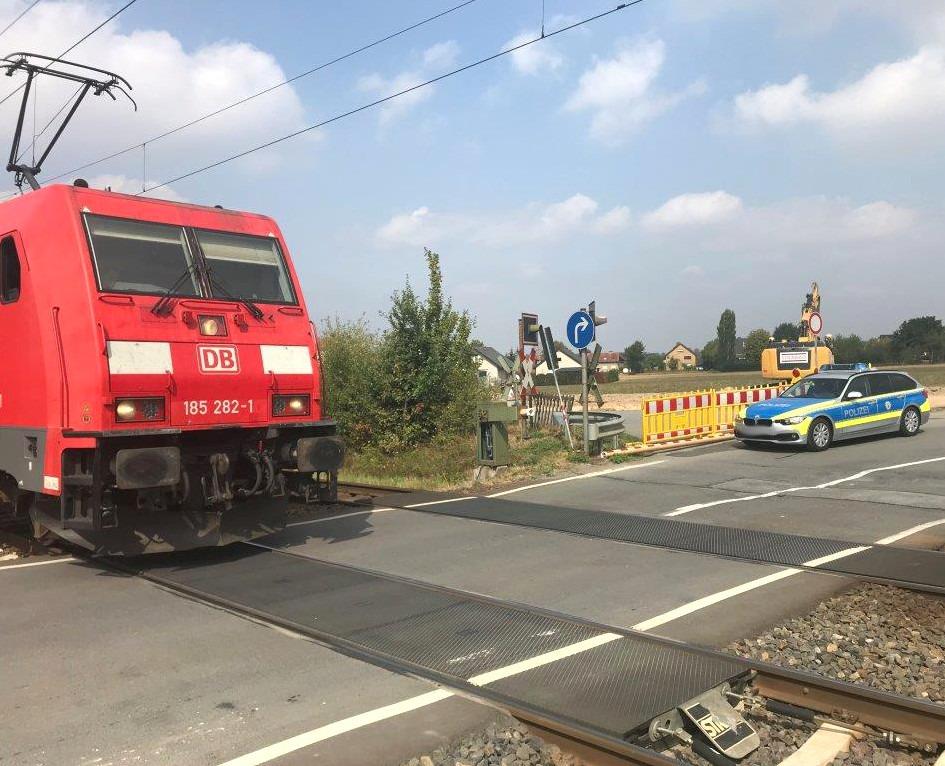 Unfall Bahnübergang