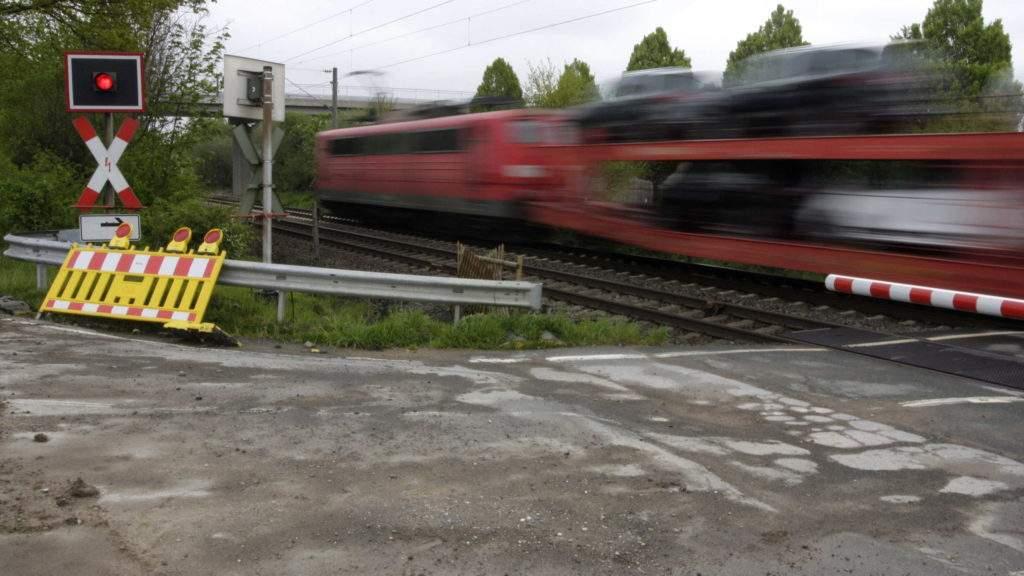 Zugdurchfahrt