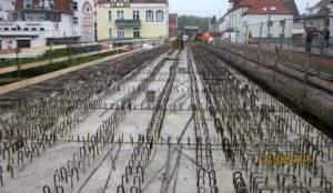 Betonplatten Hansabrücke