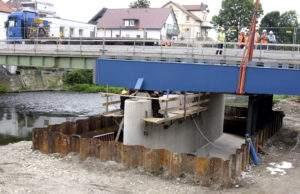 Stahlträger Hansabrücke