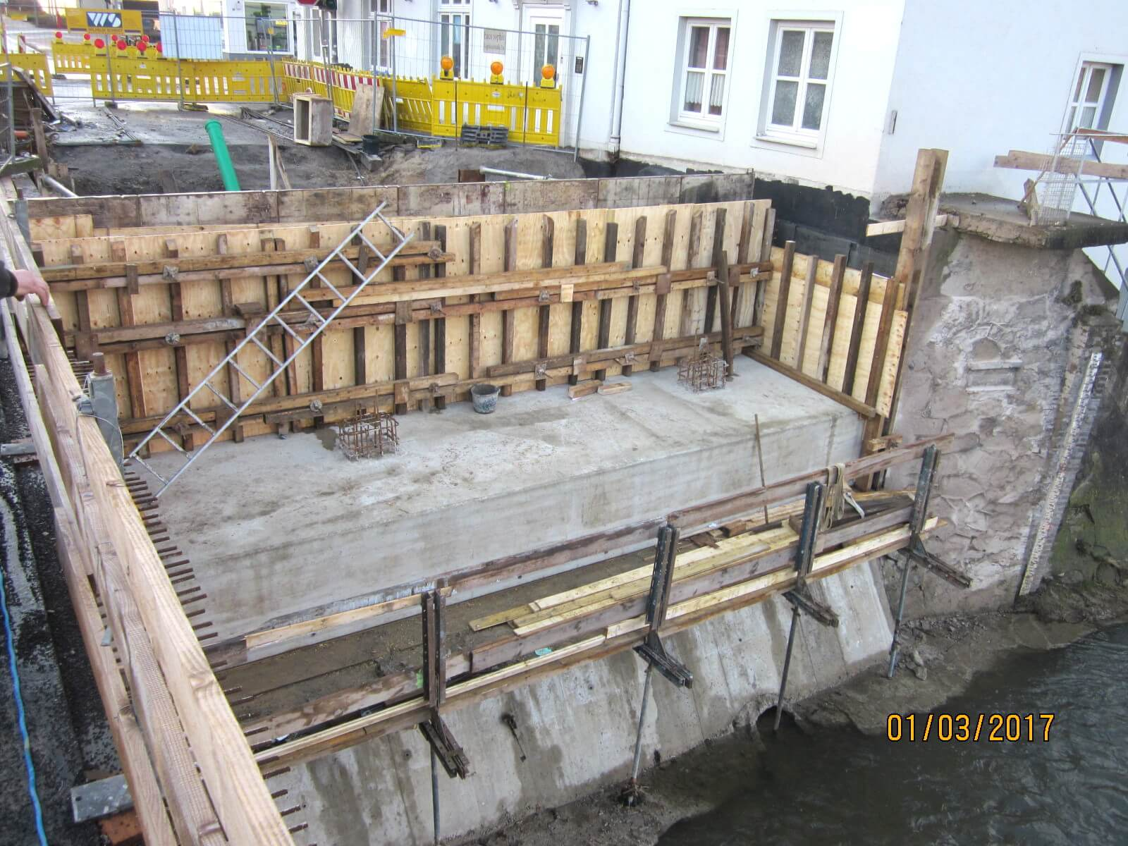 Widerlager Hansabrücke