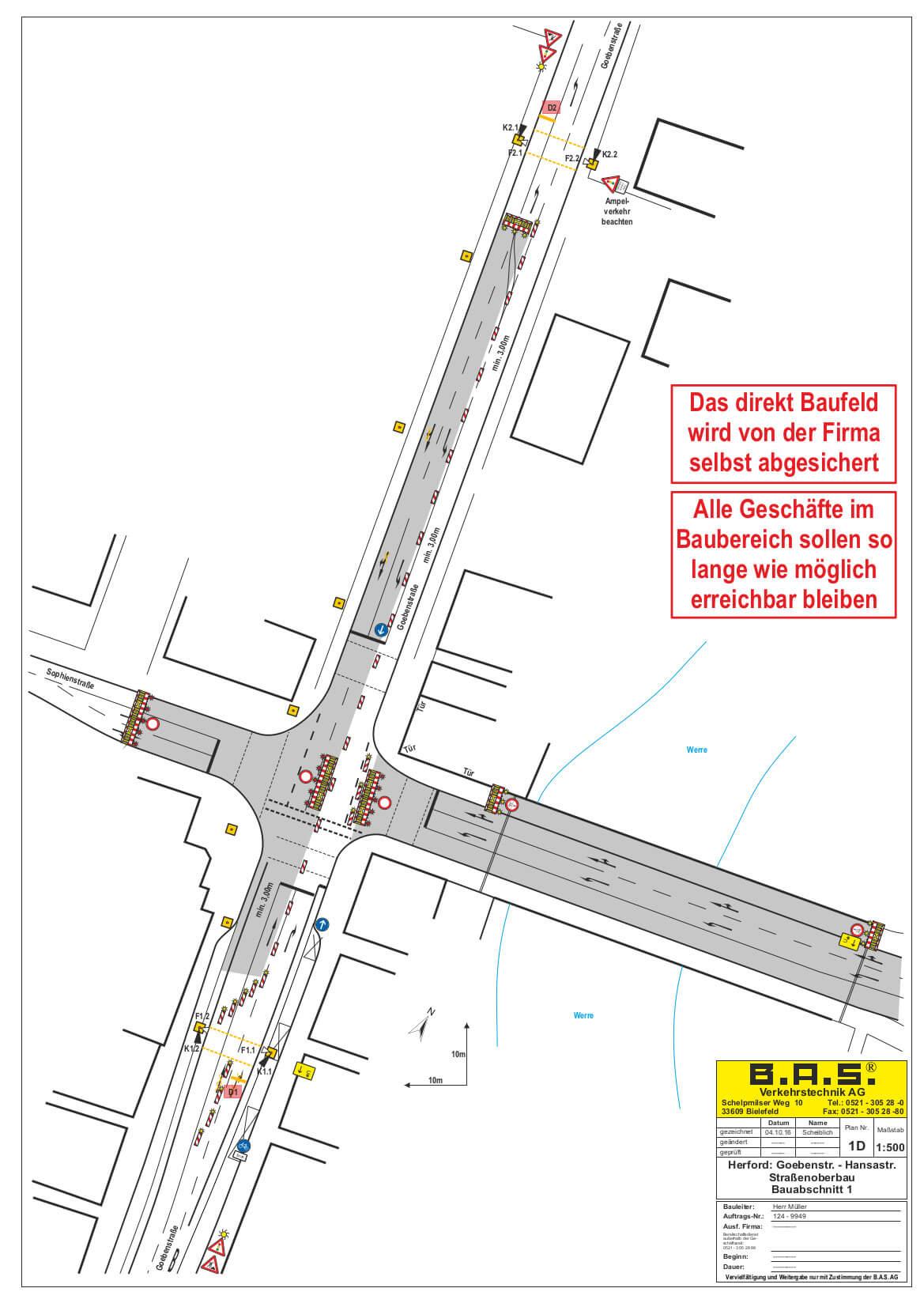 2. BA Umleitung Hansastraße Hansabrücke