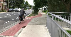 Radweg Hansastraße