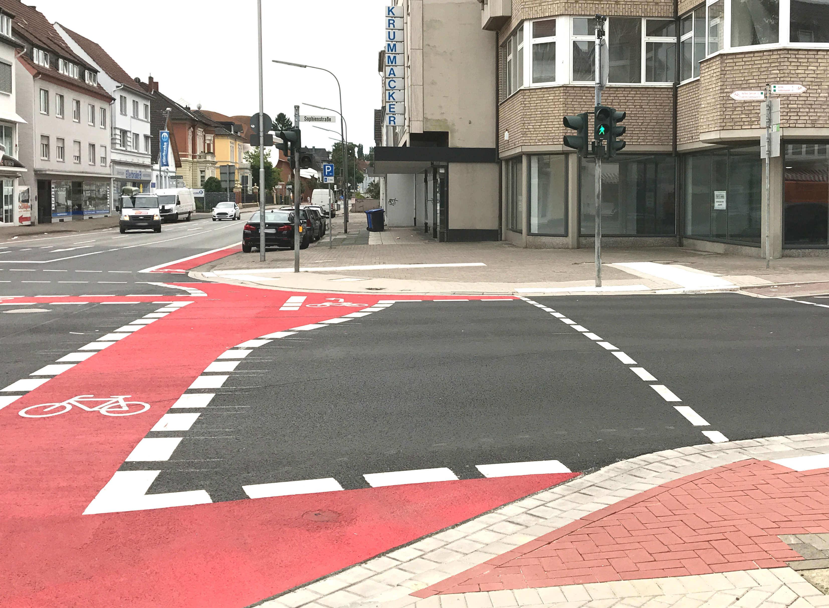Indirektes Linksabbiegen Für Radfahrer Langsam Aber Sicher