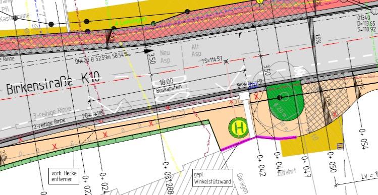 Plan Eiche Birkenstraße