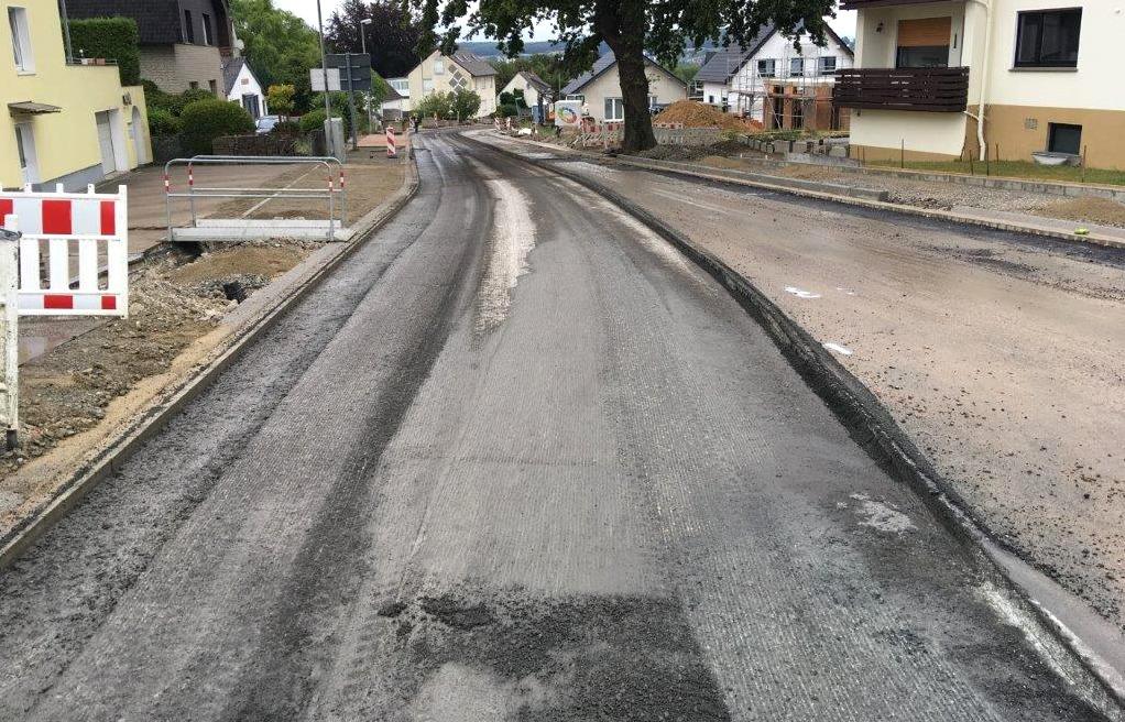 Fräsarbeiten Straße
