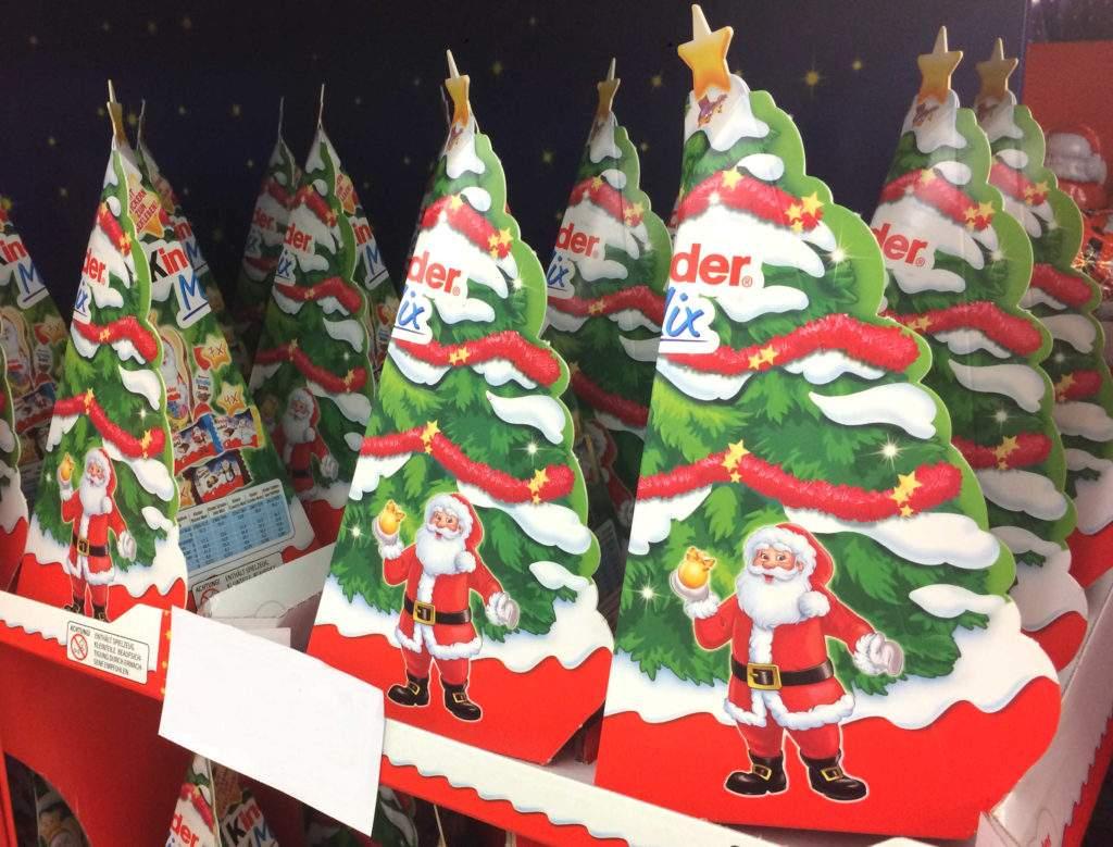 Weihnachtsdeko Supermarkt