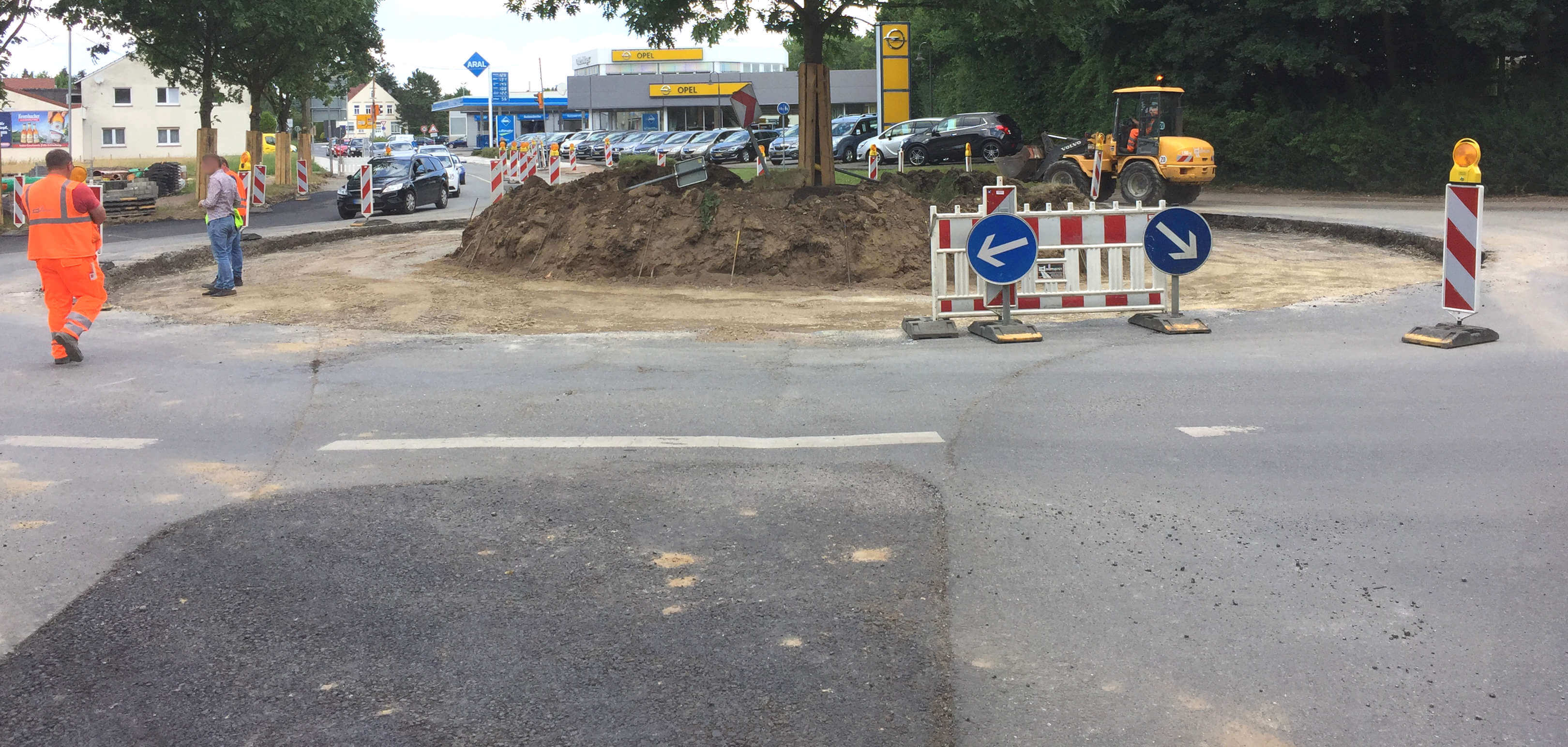 Neubau Kreisverkehr