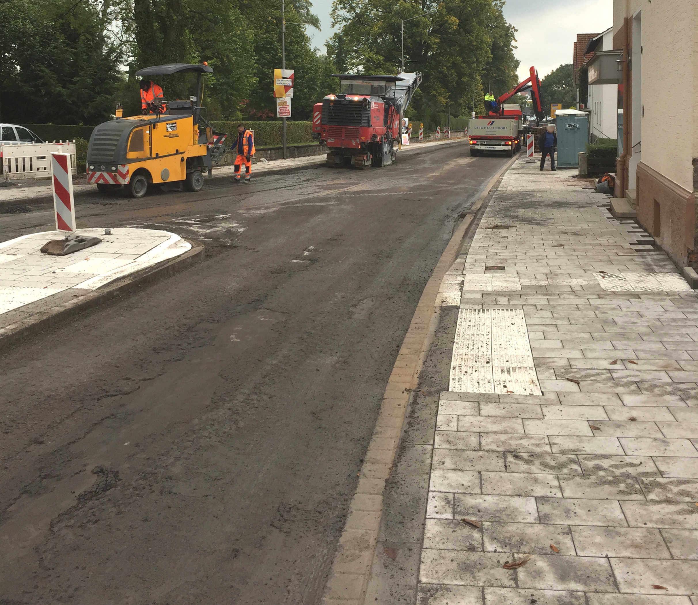Fräsarbeiten Lange Straße