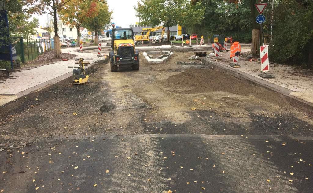 Unterbau Lange Straße Spenge