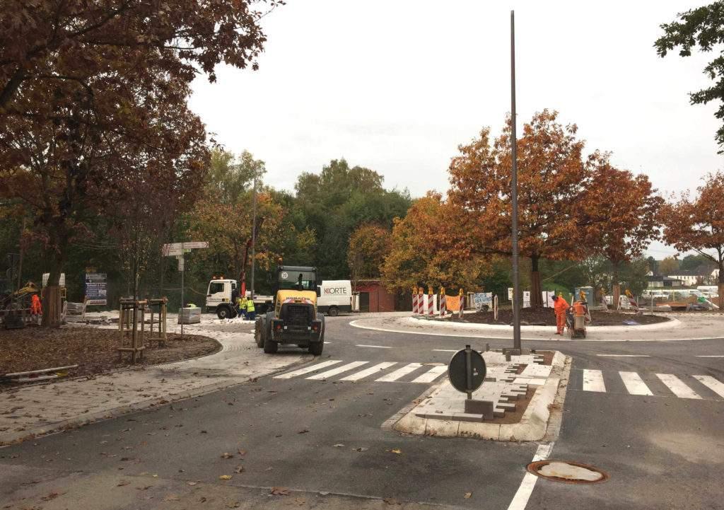 Kreisverkehr Ravensberger Straße