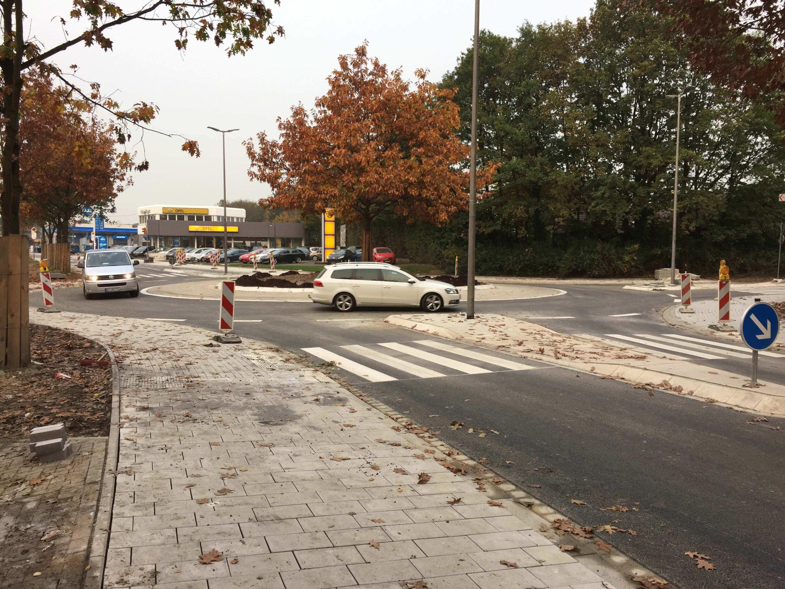 Kreisverkehr Ravensberger Straße Spenge