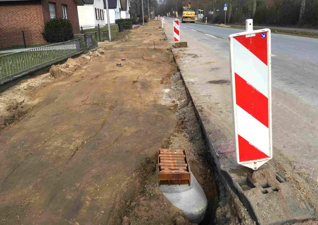 Maschstraße Nebenanlagen
