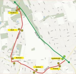 Nachtbus Linie N12 vom 02. - 16.05.19